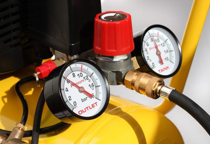 Compressed air pressure