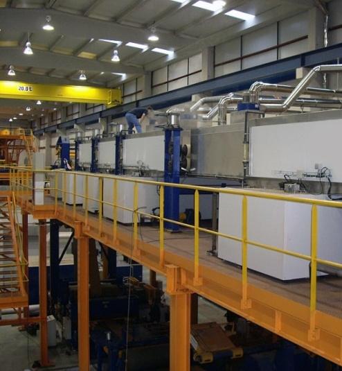 خدمات خطوط الانتاج الصناعية و مرافق المصانع - السعودية