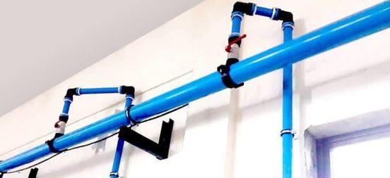 air piping system air compressors ksa